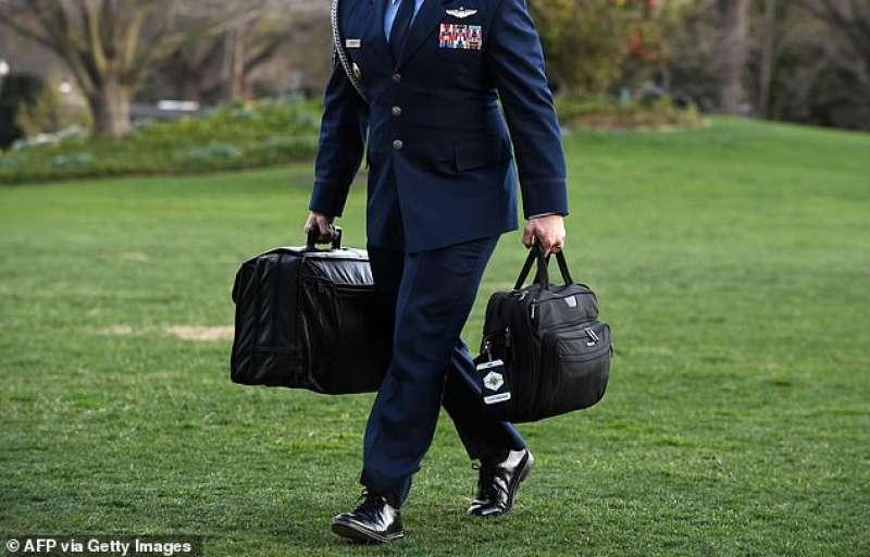 la valigetta nucleare del presidente usa