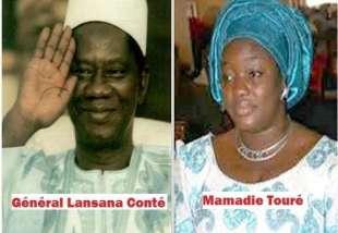 lansana conte' mamadie toure'