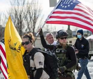 manifestanti pro trump atlanta