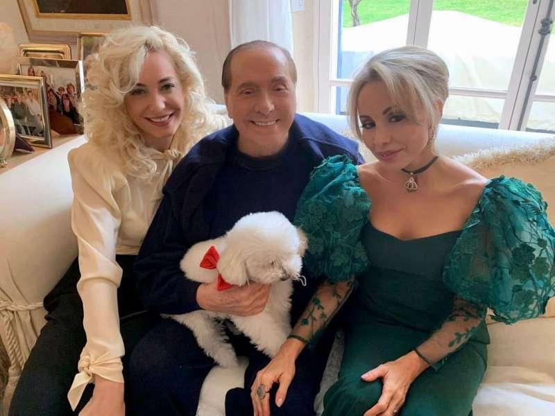 Marta Fascina Silvio Berlusconi Marina Berlusconi
