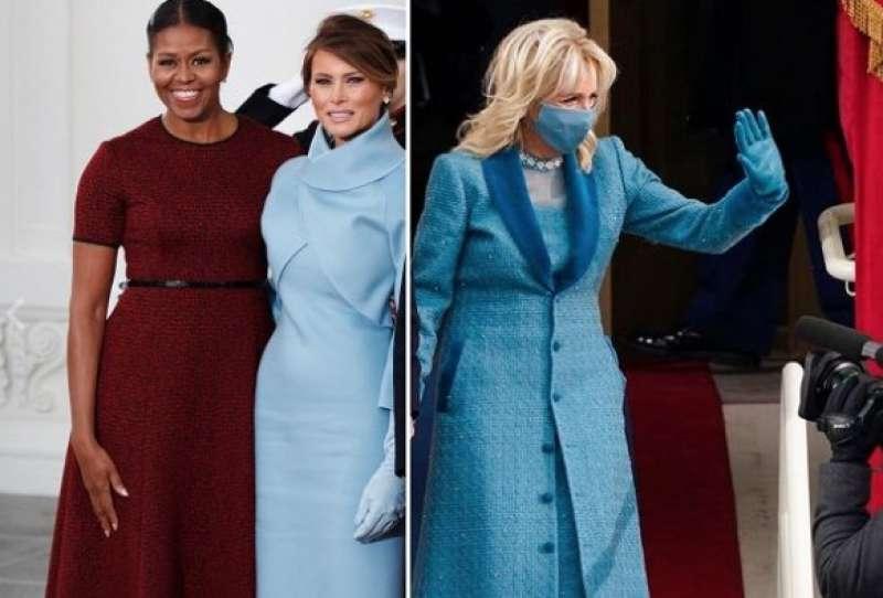 michelle obama, melania trump e jill biden