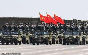 parata dell esercito cinese