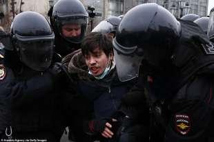 proteste per la liberazione di navalny 35
