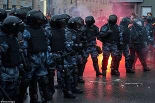 proteste per la liberazione di navalny 38