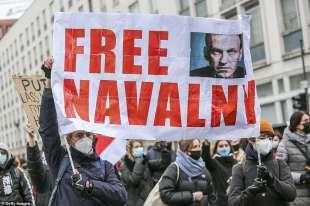 proteste per la liberazione di navalny 39
