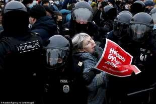 proteste per la liberazione di navalny 41