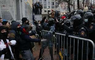 proteste per la liberazione di navalny 42