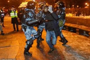 proteste per la liberazione di navalny 43