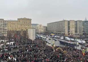 proteste per la liberazione di navalny 44