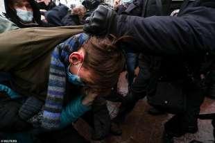 proteste per la liberazione di navalny 45