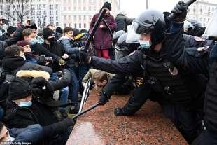 proteste per la liberazione di navalny 46