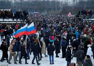 proteste per la liberazione di navalny 48