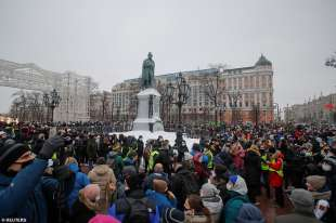 proteste per la liberazione di navalny 49