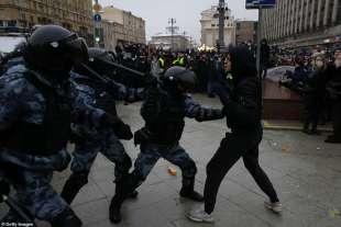 proteste per la liberazione di navalny 5
