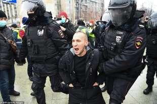 proteste per la liberazione di navalny 50