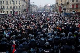 proteste per la liberazione di navalny 51
