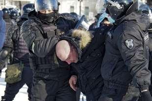 proteste per la liberazione di navalny 53