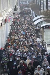 proteste per la liberazione di navalny 56