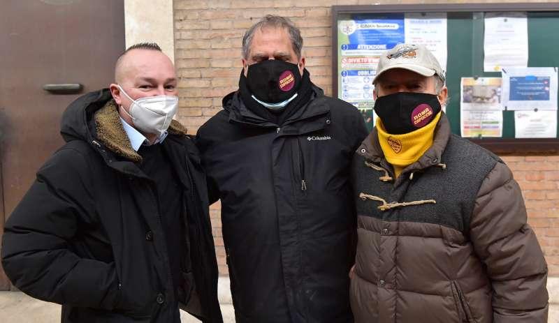 tifosi storici della roma di dino viola foto di bacco
