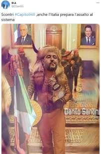 tweet dall italia sull assalto al congresso usa 7