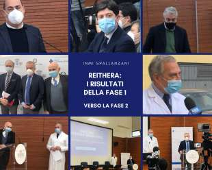 Vaccino Reithera conferenza-stampa