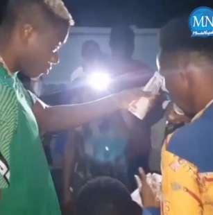 victor osimhen party senza mascherine in nigeria