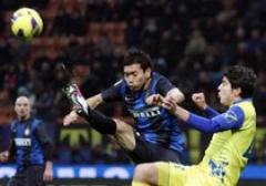 Nagatomo in Inter Chievo