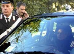 Giuseppe Mussari arriva al Tribunale di Siena