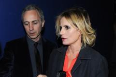 Isabella Ferrari e Marco Travaglio