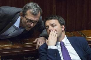 MATTEO RENZI ROBERTO GIACHETTI FOTO LAPRESSE