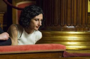 AGNESE LANDINI FIDUCIA AL GOVERNO RENZI IN SENATO FOTO LAPRESSE