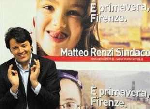 MATTEO RENZI NEL CANDIDATO SINDACO A FIRENZE