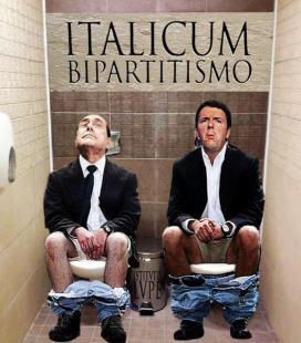 renzi e berlusconi italicum