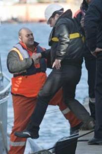 Schettino torna a bordo della Costa Concordia
