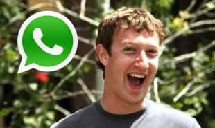 ZUCKERBERG WHATSAPP
