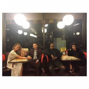 gli west con john legend a cena