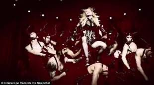 madonna in living for love