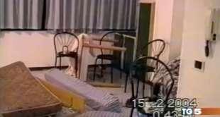 la stanza di marco pantani in hotel
