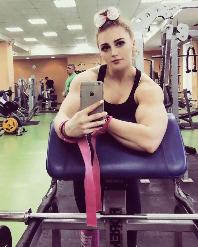Russian hulk girl