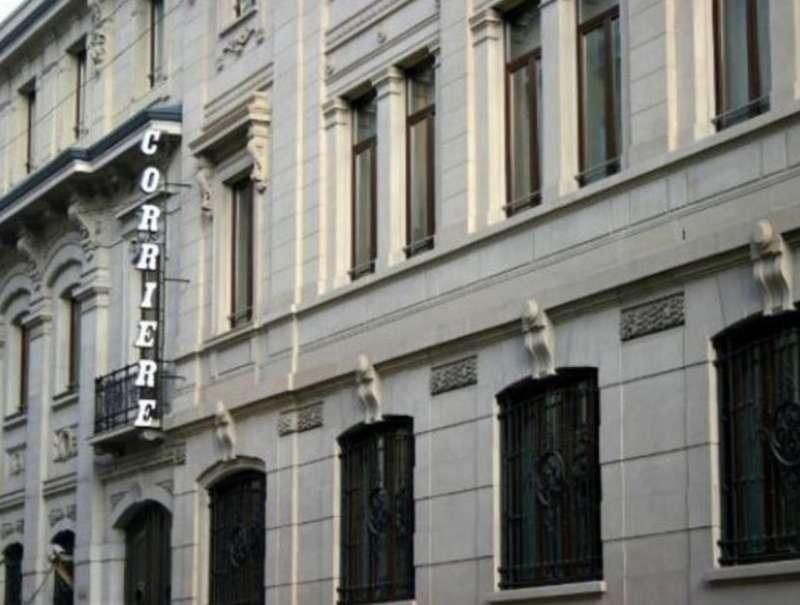 sede del corriere della sera in via solferino a milano 2