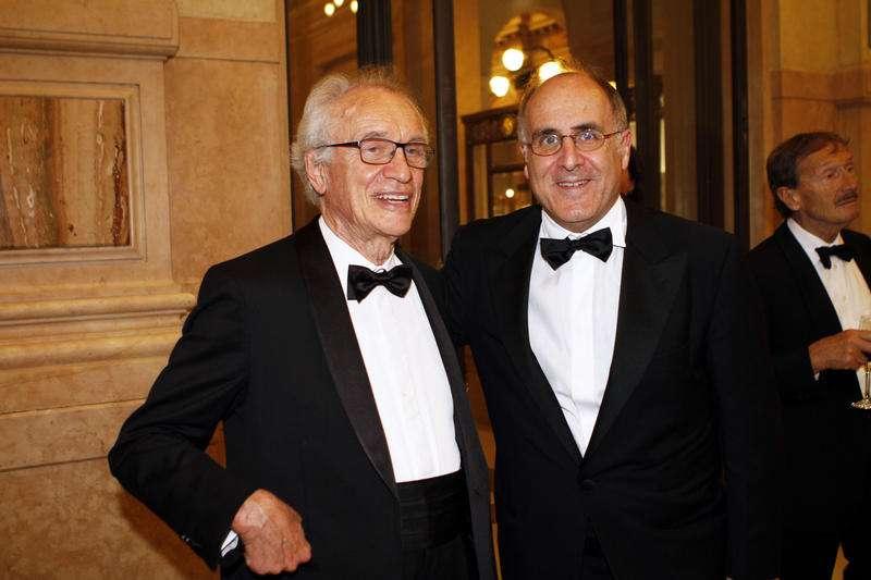 Bazoli e Victor Massiah