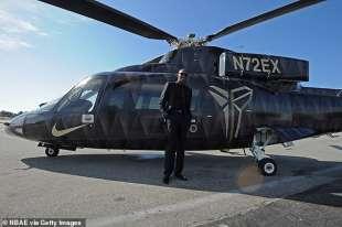 kobe bryant e il suo elicotter