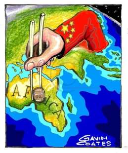 l'invasione cinese in africa