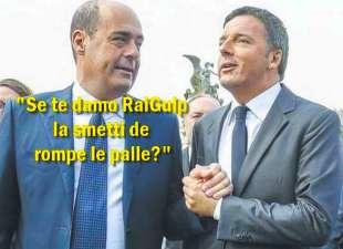 Zingaretti Renzi