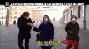 beatrice lorenzin redditometro dei politici le iene