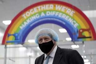Boris Johnson visita la QuantuMDx Biotechnology a Newcastle