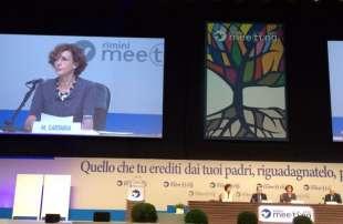 cartabia al Meeting di Comunione e liberazione