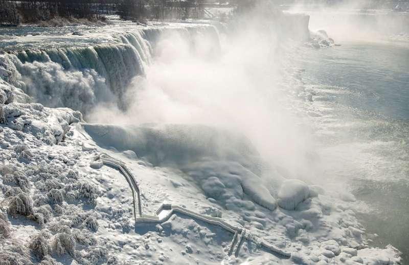 cascate del niagara ghiacciate 3