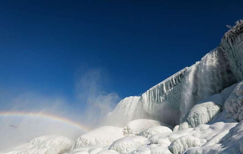 cascate del niagara ghiacciate 4