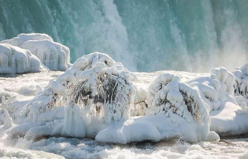 cascate del niagara ghiacciate 7